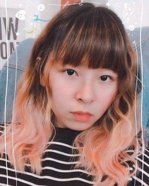 Can I live with this hair........ 🥰 #japobshairjourney...#clozetteid #hairstyle #blogger #orangehair #pastelhair #ombrehair #ggrep #wavyhair #beautyblogger #fashionblogger #lifestyleblogger #styleinspo #hairinspo #머리 #머리스타일 #머리스타그램