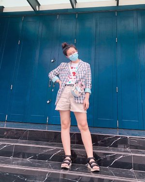 青い💙 #japobsOOTD . . . #clozetteid #fashionbloggers #ootdbloggers #styleinspo #outfitinspo #outfitinspiration #koreanstyles #bloggerperempuan #kfashion #asiangirls #coordinate #wearjp #패션 #패션스타그램 #오오티디 #오오티디룩 #스트릿패션 #패션스타일 #今日の服 #今日のコーデ #コーデ #ファッション