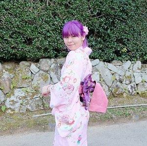 Because I can 🌸...#clozetteid #kimono #japan #kyoto #arashiyama #traveler #fashionbloggers #fblogger #beautybloggers #explorekyoto #kawaii #lifestylebloggers #美容ブロガー #着物 #きもの #嵐山 #뷰티블로거 #채션스타그램
