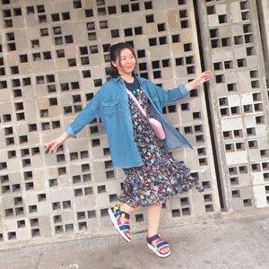 Pretender 😗 #japobsOOTD . . #clozetteid #ootdbloggers #今日の服