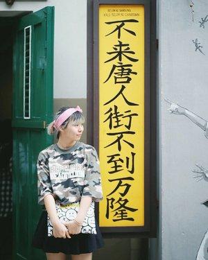 你好! One of a bunch of photos I took yesterday at @chinatown_bdg 💕 Gonna share more on my blog someday. Not soon 😂 . . . #clozetteid #chinatownbandung #fashionblogger #styleblogger #travelblogger #lifestyleblogger #ggrep #explorebandung