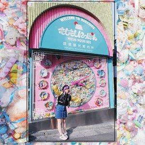 "The happiest place I'd be 💖 Is it too late for another #BigDreamerInJapan pic? One year has passed :"")...#clozetteid #japanloverme #ggrep #japantravel #travelblogger #japanigram #harajuku #tokyo #exploretokyo #fashionblogger #wanderlust #jntoid #exploretheworld #abmtravelbug #abmlifeiscolorful #kawaii #여행스타그램 #일본여행 #여행 #原宿 #旅行"