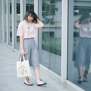 I wish I knew @mksshoes sooner 😤 This is my second pair and it's  limited collection for #MKS6thanniversary 💘 I love their cute, unique, one-of-a-kind designs, and also comfortable for daily wear 💯 . . . #clozetteid #mksshoes #style #fashion #fashionblogger #fashionbloggerstyle #styleblogger #lifestyleblogger #coordinate #indonesianfemalebloggers #jfashion #streetstyle #今日の服 #コーディネート #今日のコーデ #패션 #패션스타그램 #스트릿패션 #패션블로거 #오오티디