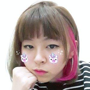 Soalnya mau post ootd abis ini 😆 btw I miss blogging 🤔...#clozetteid #japobshairjourney #fashionblogger #styleinspiration #ggrep #hairstyle #peekaboohair #kawaii #패션 #패션스타그램 #스트릿패션