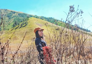 In the end, all i learned was how to be strong alone.. 💪 . . . . . . #ClozetteID #instatravel #vscocam #visualoflife #travel #nature #goodvibes #exploreBromo