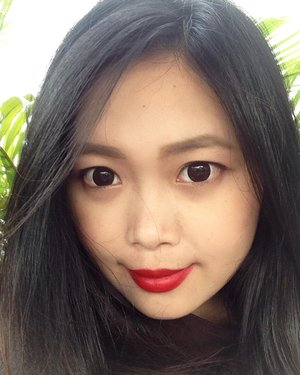 And I got that red lip, classic thing that you like.. 🎶 | On lips #lorealxbalmain Domination 💋 #invinciblyworthit #couturetribe #lorealxbalmaindomination • • • • • #selfie #sèlca #nofilterneeded #lovelyasianbeauties #natural #korean #makeup #ulzzang #ulzzangstyle #beauty #blogger #beautyblogger #bblogger #love #like #clozetteid #clozetter #beautiesID #beautybloggerid #indonesianbeautyblogger #beautyenthusiasts #instabeauty #instalike #instagood #aiachanbeautyjournal