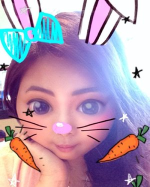 Say hello to me in bunny version! It's all thanks to #snapchatfilter for making this come true 😂 Follow my snaps to see more ✌�� • • • #bunny #selfie #selcà #snapchat #feeds #filteroftheday #indonesian_blogger #indonesiancurvyblogger #clozetteid #clozetter #inspiration #instalike #instagood #fashion #blogger #fashionblogger #fblogger #fashiondiary #beauty #beautyblogger #bblogger #beautiesID #indobeautygram #beautybloggerID #indonesianblogger #instabeauty