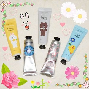 My addiction to hand cream is so real 👐 I got this #MisshaxLine hand cream thru Pre Order from @mrstanayashop and they're opening new Pre Order batch for this month. Wanna get one of these collectors item? Hurry place your order right now! #Missha #LINE #Cony #korean #products #handcream #haul #koreanbrand #loccitane #cherryblossom #sheabutter #loveloccitane #beauty #blogger #beautyblogger #bblogger #onlineshopping #love #like #clozetteid #clozetter #beautiesID #beautybloggerid #indonesianbeautyblogger #instabeauty #instalike #instagood #aiachanbeautyjournal #sponsorship