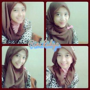 Ini kreasi scarf hijabku Kreasi mu??? #ClozetteID #kreasiscarf #scarf #COTW #OOTD #hijabstyle