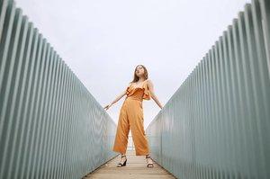 The waltz of the wind 🍃 | 📸@samseite Wearing @aitelier.id , the jumpsuit is from their newest collection. . . . . . #ClozetteID #OOTD #ootdindo #ootdindonesia #lookbookindonesia