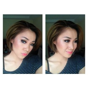 Nyobain highlighternya the balm #maryloumanizer #fotd #makeupaddict #makeupartist #makeupjunkie