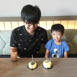 Double celebration for the May boys! Their birthday is only 3 days apart 😄 #family #love #grateful #clozetteid #birthdayboy