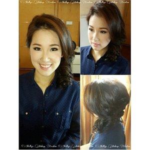 Soft Makeup for @cassiajosephine  Makeup and HairDo by @shelleymuc  #makeup #makeover #beauty #shelleymuc #surabaya #makeupartist #mua #shelleymakeupcreation #beforeafter #clozetteID #makeover #muasurabaya #muaindonesia #hairdo #soft #softmakeup #softsmokey #InstaSize