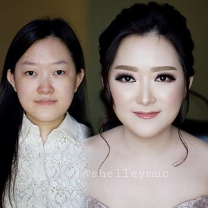 Engagement Makeup for Sheila  Makeup by @shelleymuc @shelleyssebastian HairDo by @tiara_hairdo Lashes @artisanpro Ringlight @cathiestuff.id  #makeup #beauty #shelleymuc #surabaya #makeupartist #mua #shelleymakeupcreation #beforeafter #clozetteID #makeover #muasurabaya #muaindonesia #hairdo #soft #softmakeup #beautifulgirl #softsmokey #glammakeup #glamourmakeup #makeupartistsurabaya #surabayamakeupartist #correctivemakeup #monolid #monolidmakeup #engagementmakeup #bridalmakeup #weddingmakeup