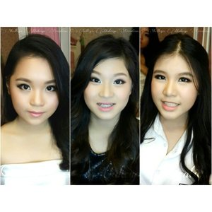 Prom makeup for @chelseatilford @go_ellen and @jenniferwinarta  Makeup by @shelleymuc  HairDo by @esther_sthefanie  #makeup #beauty #shelleymuc #surabaya #makeupartist #mua #shelleymakeupcreation #beforeafter #clozetteID #makeover #muasurabaya #muaindonesia #instasize