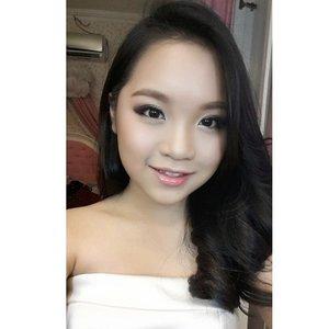 Prom makeup for Chelsea  Makeup by @shelleymuc  HairDo by @esther_sthefanie  #makeup #beauty #shelleymuc #surabaya #makeupartist #mua #shelleymakeupcreation #beforeafter #clozetteID #makeover #muasurabaya #muaindonesia #soft #softmakeup #softsmokey #instasize