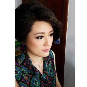 Makeup and HairDo for Anita  #makeup #beauty #shelleymuc #surabaya #makeupartist #mua #shelleymakeupcreation #beforeafter #clozetteID #makeover #muasurabaya #muaindonesia #hairdo #InstaSize