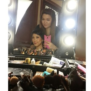 With miss @anggikayuwono  Makeup and HairDo by @shelleymuc  #makeup #makeover #beauty #shelleymuc #surabaya #makeupartist #mua #shelleymakeupcreation #beforeafter #clozetteID #makeover #muasurabaya #muaindonesia #hairdo #soft #softmakeup #InstaSize