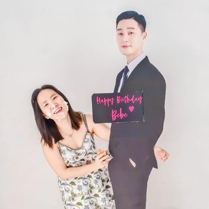 another memorable birthday thanks to @carolinmalie @elindayap @susan_budiman ❤️❤️❤️❤️ so thankful to be surrounded by my amazing friends & family❤️ #parkseojoon cardboard by @choosemedesign#clozetteid