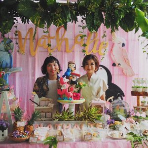 us today at Nathalie 8th birthday celebrationDecoration by @choosemedesign••••••••••#clozetteid #dearestviewfinder #beautifulmatters  #darlingdaily #lookbookindonesia #dametraveler #theheartcaptured #finditliveit #thehappynow #wheretofindme #ootd #ファッション #스타� #コーデ #littlestoriesofmylife #abmlifeiscolorful #pathport #momentsofmine #thesincerestoryteller #ofsimplethings #pinkaesthetic #vscoindonesia