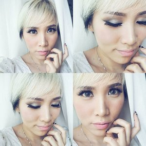 Makeup for my daughter's christening day. Was in a rush I picked a wrong falsies, these ones look so OTT especially for morning activity 😅😅 Check out Eve's christening photo on our account @bebeandeve, she looked very cute this morning 😊 ♡ In the mean time, these are the products that I used on my face : •Les Merveilleuses Ladurée UV Protection Makeup Base •Chanel Vitalumiere foundation •MAC Pro Longwear Concealer •TheBalm Sexy Mama Translucent Powder •Tarte Smooth Operator Finishing Powder for under eye •Guerlain Meteorites Flocons Enchantés •Tom Ford Bronzing Powder Terra •Cargo Blush Amalfi •MAC Paint Pot Soft Ochre •Maybelline The NUDES Palette •Tom Ford Eye Cream & Powder Black Oyster •MAC Eye Pencil Duck •YSL Waterproof Eye Pencil # 1 •Anastasia Beverly Hills Beauty Express For Brows & Eyes Brunette •Maybelline Baby Lips Electropop •Beyond Cosmetics Rich Color Lipstick 01 #fotd #clozetteid #clozette #fdbeauty #faceoftheday #makeupoftheday #motd #makeuptalk #makeupaddict #makeupmania #makeupporn #makeupjunkie #makeupobsessed #weheartit #thatsdarling #selfienation #aboutalook #indobeautygram #indonesianbeautyblogger #beautybloggerindonesia