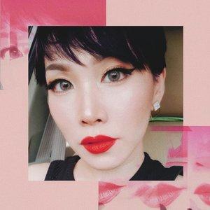 m e r a h @fentybeauty • • • • • • • • • • • #clozetteid #beatthatface #makeupaddict #makeuplook #ontheblog #makeupfanatic1 #darlingdaily #momblog #wakeupandmakeup #ilovemakeup #indobeautygram #beautybloggerindonesia #beautybloggers #makeuplook #makeuptalk #powerofmakeup #ビューティー #春メイク #화장품 #메이크업 #コスメ #メイク動画 #アイメイク #プチプラ #메이크업 #인스타뷰티 #ivgbeauty #luxurybeauty