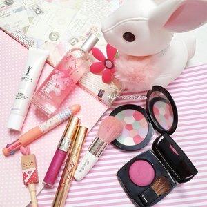 Bunny love.#motd #potd #FOTD #clozetteid #fdbeauty #weheartit #makeup #makeuptoday #makeupmania #makeupmafia #makeupporn #makeupjunkie #makeupaddict #beaytyjunkie #beauty #igbeauty #igers #instadaily #femaledaily #pink #chanel #chanelbeauty #YSL #Guerlain