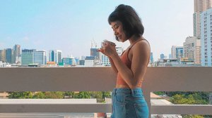Bangkok ♡••••••••••#clozetteid #dearestviewfinder #beautifulmatters  #darlingdaily #lookbookindonesia #dametraveler #theheartcaptured #finditliveit #thehappynow #wheretofindme #ootd #ファッション #스타일 #コーデ #littlestoriesofmylife #abmlifeiscolorful #pathport #momentsofmine #thesincerestoryteller #ofsimplethings #vscoindonesia #vsco