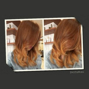 Color by agus salim @number11id  #Ombre #balayage #brunette #browncolor #ombebalayage #hairtrend #hairgram #instahair #InstaMagAndroid #squaready #lightbrownhair #asianhair #number11id #number11color #clozetteid #kleralhaircolor #kleralsystem