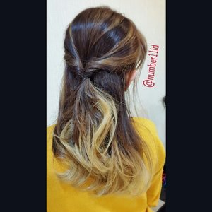 Ombre balayage brown ash @fenny_paramita @number11id  #hairgram #Ombre #balayage #ash #brownash #asianhair #clozetteid #kleral #kleralsystem #orchidoil #keratintreatment #instahair #number11id #number11style