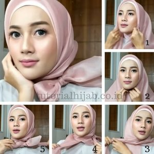 Easy organza hijab tutorial