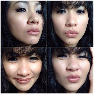 My Silly Faces 😄😄 Today's make up #selfpotrait #myselfandi #narcism #wetnwild #nyxcosmetics #maybelline #thebalmbeauty #tomfordcosmetics #kohgendocosmetics #lauramercier #milanicosmetics #hakuhodobrushes #jefreestarcosmetics #diorbeauty #maccosmetics #lipsticksaddict #lipsticksjunkie #makeupaddict #makeupjunkie #clozetteid #clozettedaily #beauty #makeup #fotd #lotd #fdbeauty #femaledaily