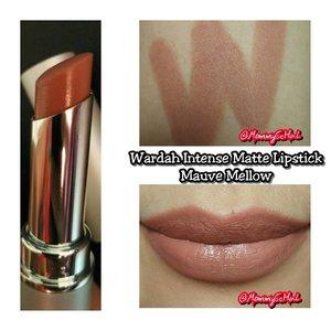 Wardah Intense Matte 04 Mauve Mellow from @wardahbeauty #selfpotrait #myselfandi #narcism #lipspotrait #wardahbeauty #wardahcosmetic #wardahintensemattelipstick #mauvemellow #lipsticksaddict #lipsticksjunkie #makeupaddict #makeupjunkie #clozettedaily #clozetteid #beauty #makeup #fotd #lotd #fdbeauty #femaledaily