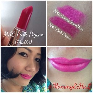 MAC Pink Pigeon #selfpotrait #myselfandi #narcism #lipspotrait #pinklipsticks #maccosmetics #lipstickjungkie #makeupjungkie #clozetteid #femaledaily