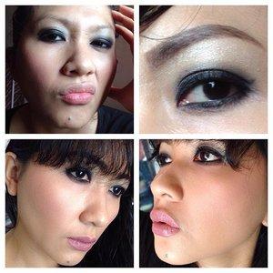 Today's make up #selfpotrait #myselfandi #narcism #wetnwild #anastasiabeverlyhills #maybelline #thebalmbeauty #lorealcosmetics #kohgendocosmetics #cargocosmetics #guerlain #giorgioarmanibeauty #sephora #hakuhodobrushes #nyxcosmetics #yslbeauty #lipsticksaddict #lipsticksjunkie #makeupaddict #makeupjunkie #clozetteid #clozettedaily #beauty #makeup #fotd #lotd #fdbeauty #femaledaily