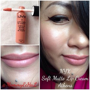 NYX Soft Matte Lip Cream #athens from @nyxcosmetics#selfpotrait #myselfandi #narcism #lipspotrait #nudelipsticks #nyxcosmetics #lipstickjungkie #makeupjungkie #clozetteid #fdbeauty #femaledaily