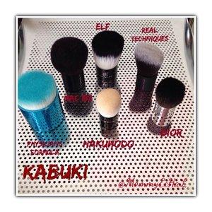 Kabuki-ku 😍 #brushes #physiciansformulabrush #macbrush #elfbrush #realtechniquesbrush #diorbrush #hakuhodobrush #brushaddict #makeupjungkie #clozetteid #femaledaily