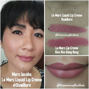 Le Marc Liquid Lip Creme SlowBurn from @marcbeauty #selfpotrait #myselfandi #narcism #lipspotrait #lemarc #lemarcliquidlipcreme #marcjacobscosmetics #marcjacobsbeauty #lipsticksaddict #lipsticksjunkie #makeupaddict #makeupjunkie #clozettedaily #clozetteid #beauty #makeup #fotd #lotd #fdbeauty #femaledaily