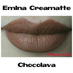 Emina Creamatte Chocolava from @eminacosmetics #selfpotrait #myselfandi #narcism #lipspotrait #eminacreamatte #eminachocolava #eminacosmetics #lipsticksaddict #lipsticksjunkie #makeupaddict #makeupjunkie #clozettedaily #clozetteid #beauty #makeup #fotd #lotd #fdbeauty #femaledaily