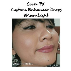 Cover FX Custom Enhancer Drops #moonlight from @coverfx #selfpotrait #myselfandi #narcism #coverfxdrops #coverfxenhancerdrops #highlighter #coverfx #makeupaddict #makeupjunkie #clozettedaily #clozetteid #beauty #makeup #fotd #fdbeauty #femaledaily