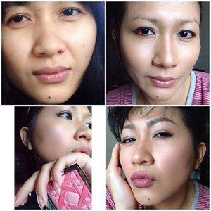 Transformation #selfpotrait #myselfandi #narcism #wetnwild #anastasiabeverlyhills #maybelline #thebalmbeauty #lorealcosmetics #kevynaucoinbeauty #cargocosmetics #guerlain #diorbeauty #sephora #hakuhodobrushes #maccosmetics #lipsticksaddict #lipsticksjunkie #makeupaddict #makeupjunkie #clozetteid #clozettedaily #beauty #makeup #fotd #lotd #fdbeauty #femaledaily