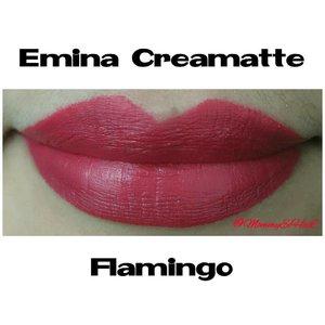 Emina Creamatte Flamingo from @eminacosmetics #selfpotrait #myselfandi #narcism #lipspotrait #eminacreamatte #eminaflamingo #eminacosmetics #lipsticksaddict #lipsticksjunkie #makeupaddict #makeupjunkie #clozettedaily #clozetteid #beauty #makeup #fotd #lotd #fdbeauty #femaledaily
