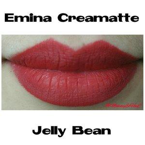 Emina Creamatte Jelly Bean from @eminacosmetics #selfpotrait #myselfandi #narcism #lipspotrait #eminacreamatte #eminajellybean #eminacosmetics #lipsticksaddict #lipsticksjunkie #makeupaddict #makeupjunkie #clozettedaily #clozetteid #beauty #makeup #fotd #lotd #fdbeauty #femaledaily