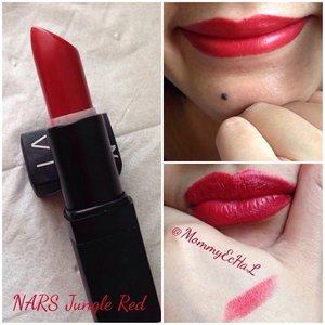 Nars Jungle Red #selfpotrait #myselfandi #narcism #lipspotrait #redlipsticks #narscosmetics #lipstickjungkie #makeupjungkie #clozetteid #femaledaily