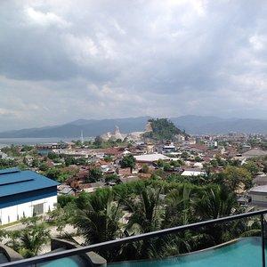 Beautiful View from Square resto Novotel Hotel #konaslampung #skii