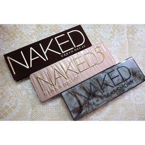 Should i complete this set??? #urbandecay #nakedpalette #nakedsmokey #naked3 #eyeshadow #palette #makeupaddict #fdbeauty #clozetteid