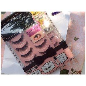 A good deal i got from @kaycollection, got this Decorative eyelash only for IDR 189.000, regular price IDR 179.000!! #eyelash #decorativeeyelash #recentpurchased #fdbeauty #kaycollection #kaybeauty #sho.bi #japanbeauty #japaneyelash #clozetteid #bblog #kawaii