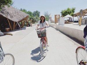 Duh kangen sepedaan~  #Lingtrip  #clozetteID  #throwback  #bicycle