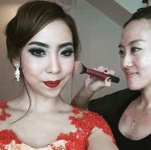 Latest glam makeup with @heldymarcellin at @avantestudio  #makeup #mua #makeupartist #jakartamua #muajakarta #beauty #glammakeup #hudabeauty #smokyeyes #vegas_nay #mariammaquillage #wakeupandmakeup #kursusmakeupbekasi #clozette #clozetteid #beauty #indonesiabeautyblogger #beautyblogger #bblogger #beautybloggerindonesia #like #like4like