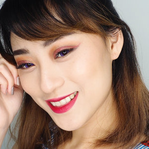 This is the closer look for latest video CNY makeup tutorial .. Dont forget to watch them if you want to know the detail of product i used.. Enjoyyy.. . . . . . . #cny #chinesenewyear #makeuptutorial #makeup #tutorialmakeup #cnymakeup #makeuplook